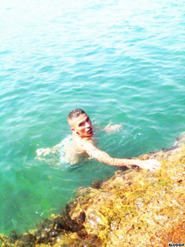 moi a la plage )