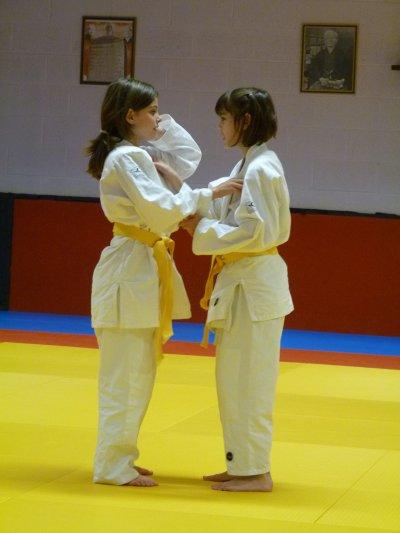 judo en jaune