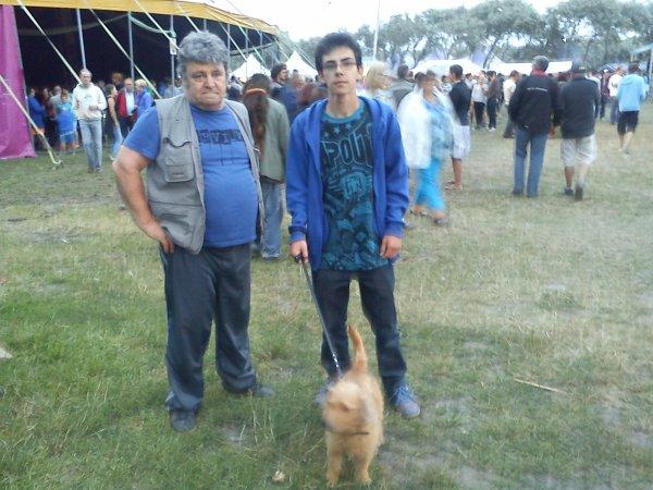 Mon fils, mon mari et moi + festival à Bredene année 2013.
