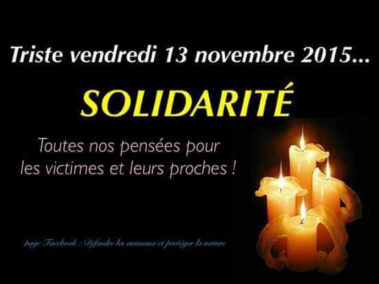 En hommage aux victimes d attentats de tous les pays concernés par ces actes de violence ! !