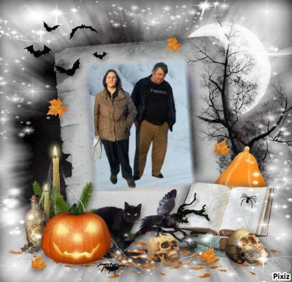 Très jolis cadeaux d Halloween..merci à petitemamiedu13 et itounany et lyly54.