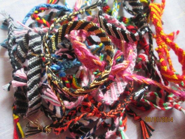 Mes bracelets brésilien