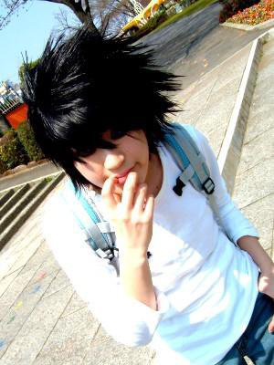 Cosplay death note L 4