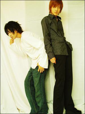 Cosplay death note Light et L ^^