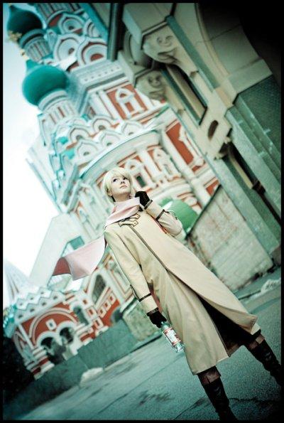 Cosplay HETALIA  Russia