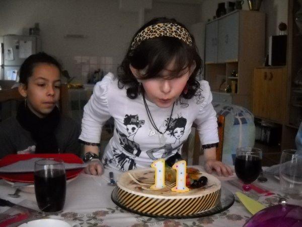 anniversaire de ma fille oceane