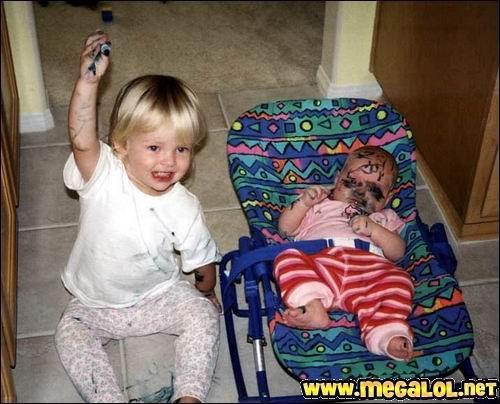 Dessinez c'est gagner ! Ah oui, il faut apprendre aux gosses à dessiner pour éveiller leurs sens ! ouais, d'accord, merci les pédiatres !