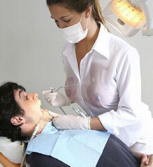 Beaucoup de monde a peur d'aller chez le dentiste… Moi pas