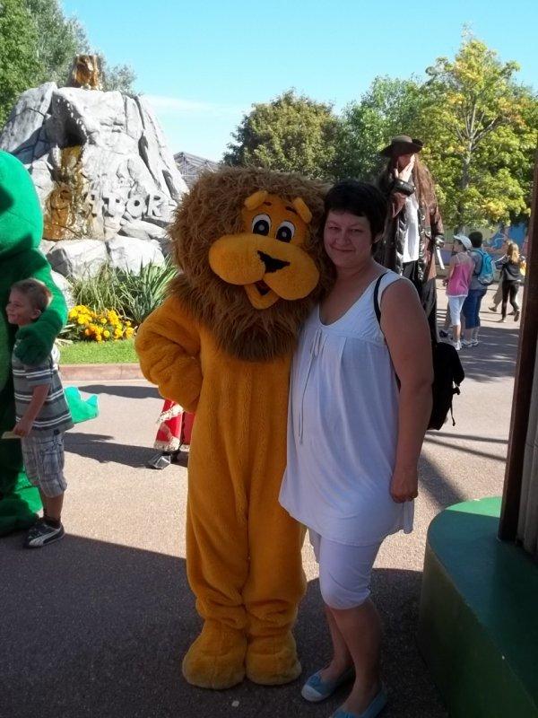 moi  avec  un tigre a& wallygator  hier