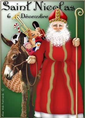 6 decembre     jour  de saint nicolas