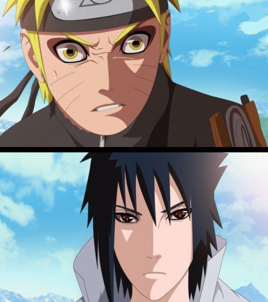 Enfin le combat du siecle naruto vs sasuke  la revanche