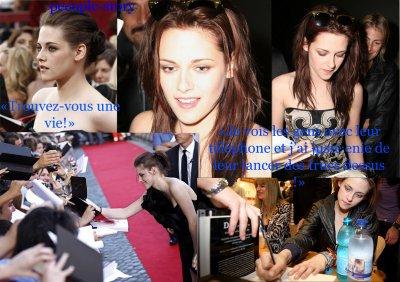 Kristen Stewart déteste ses fans !