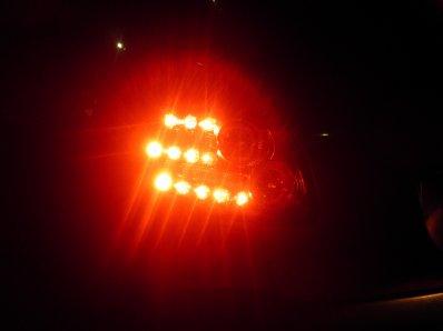 mes feux vu de nuit