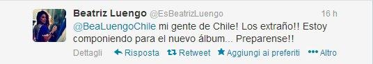 Beatriz Luengo: Nuovo Album