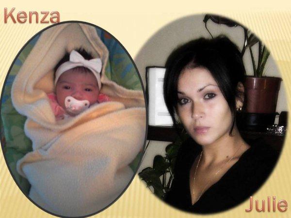 Ma fille Julie et sa fille Kenza