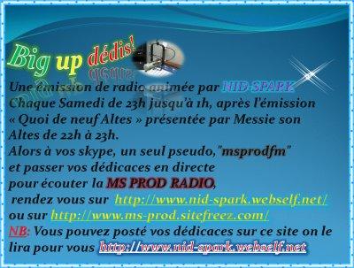 Emission Big Up Dédis!!