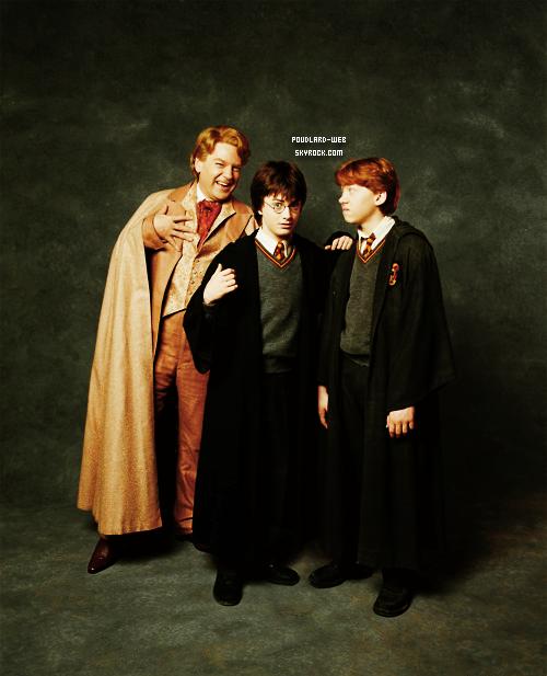 Photo Exclusive Du Shoot Harry Potter Et La Chambre Des Secrets