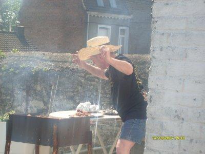 les voisin au barbec