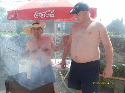les voisin et moi et mon amour au barbec