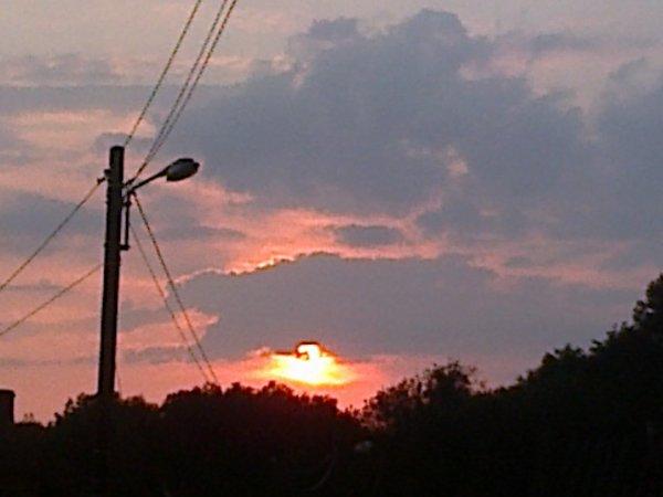 les beau couche de soleil