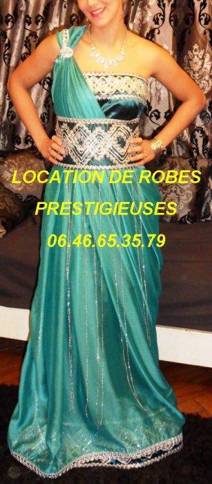 Location de robes prestigieuses