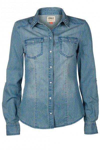 Chemise En Jeans. ♥*-*