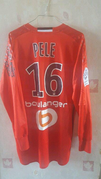 Maillot porté par Yohan Pelé