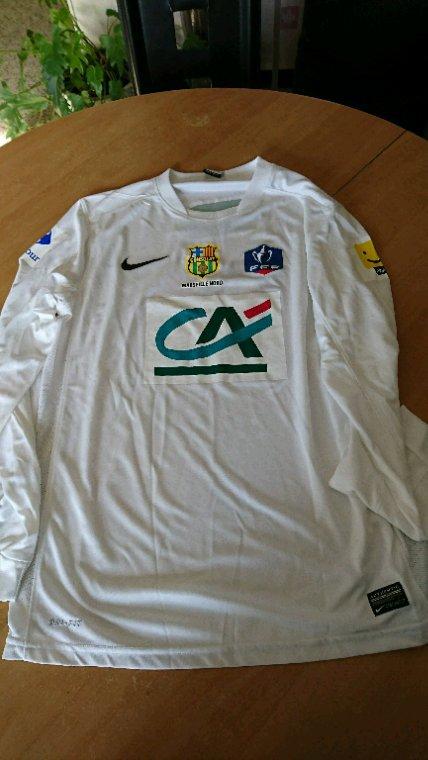 Maillot porté coupe Marseille Consolat