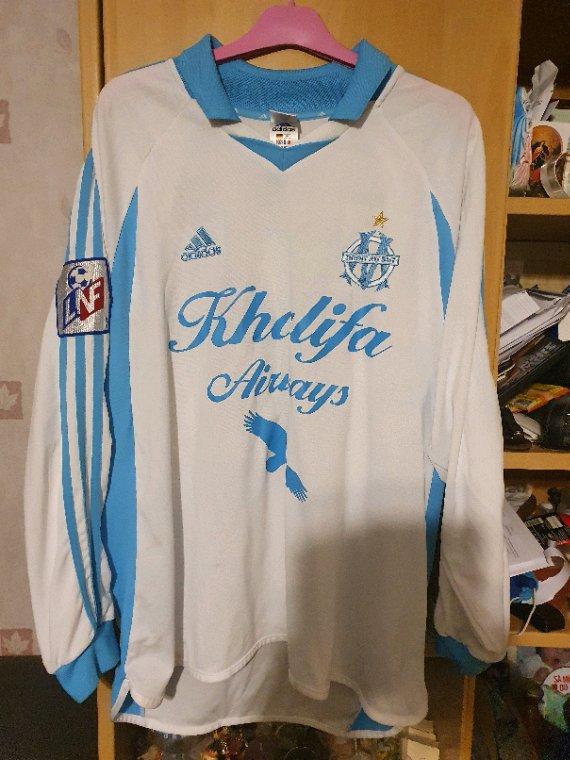 Maillot porté Salom9n Soleure saison 2001-2002