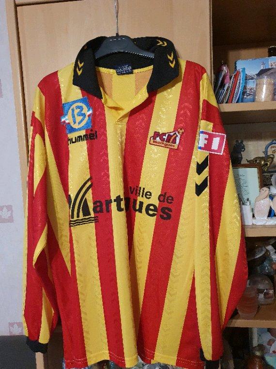 Maillot Fc Martigues saison 1998-1999 Championnat National