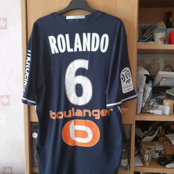 Maillot porté Rolando