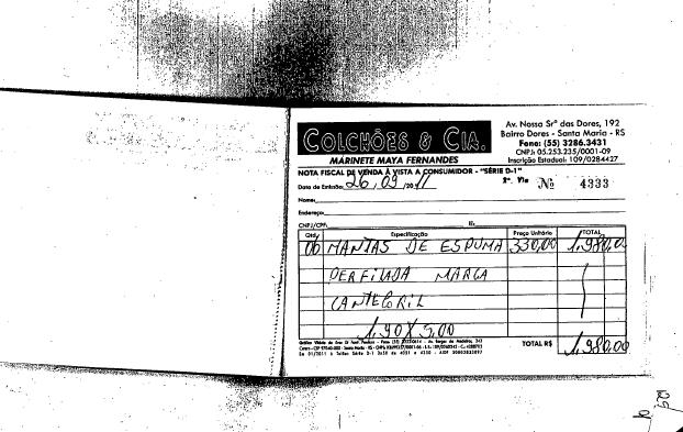 Documentos da Polícia Civil de Santa Maria - Necropsia e Espuma da Boate da Morte