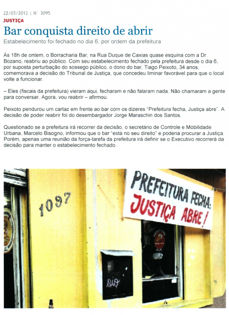 Responsabilidades da Prefeitura, por Cezar Schirmer