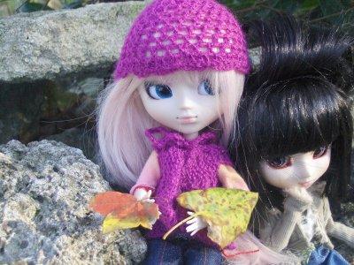 Sakura et Akira dans la forêt