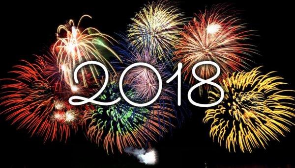 Je Vous Souhaite Une Très Bonne Année 2018 à tous