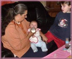 Baptême de mon filleul et de sa petite soeur