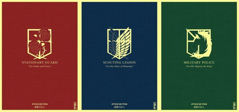 Shingeki No Kyojin - Les Régiments