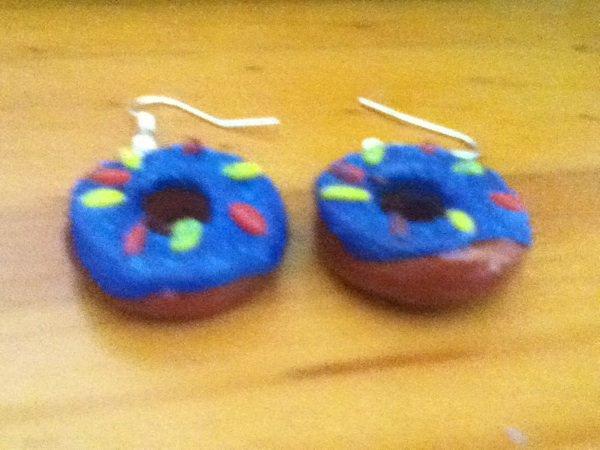 boucles d'oreilles Donuts