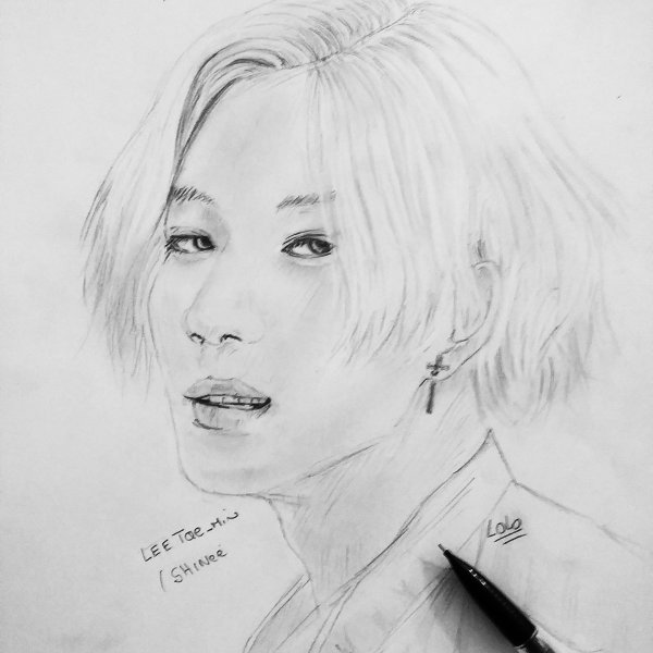 Taemin kpop que j'ai dessinée