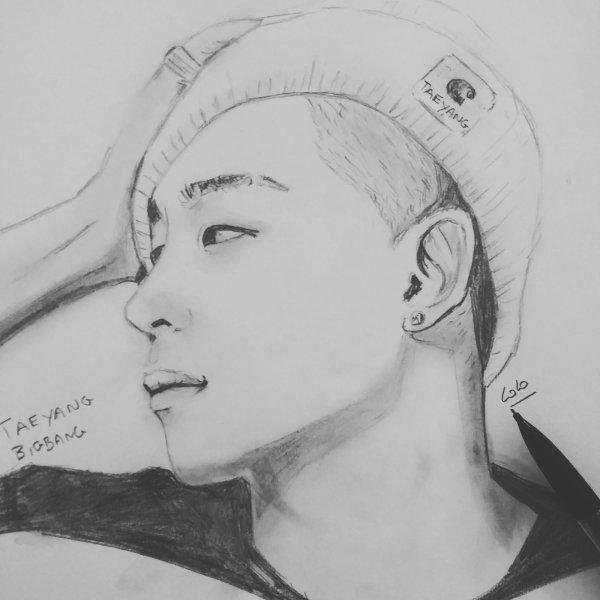 BIGBANG kpop que j'ai dessinée