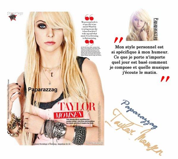 """Taylor nommé étoiles de style """"Seventeen"""" de 2010"""
