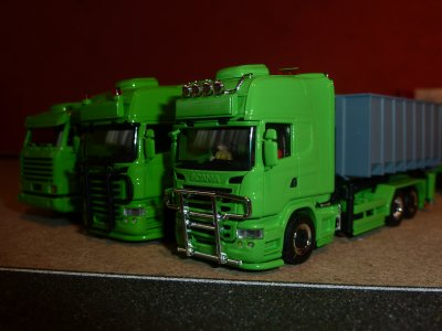 Voici le nouveau Scania R09 de mon père .