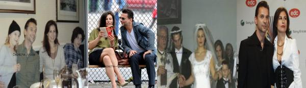 14.02.99 : Dave et Jennifer Sklias se marient. Ils ont fêté leur 19 ans de mariage ! Avec Jennifer, Dave est devenu papa pour la seconde fois de Stella Rose. (cliquer sur l'image pour voir en plus gros)