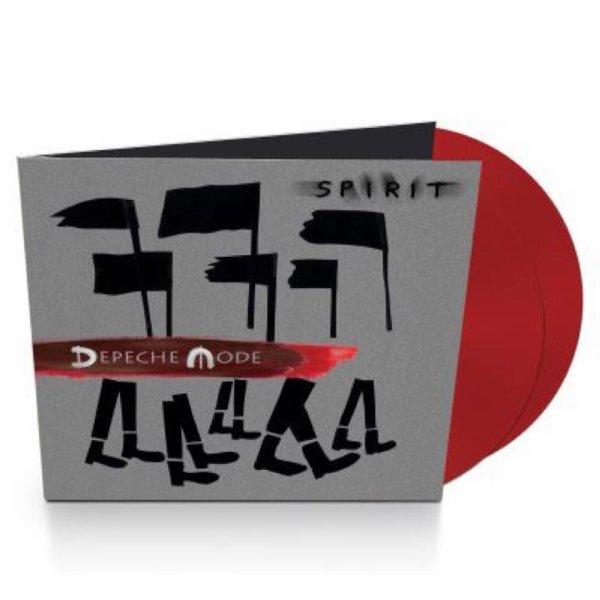 Spirit sort en vinyle couleure rouge, commandez le votre sur la FNAC