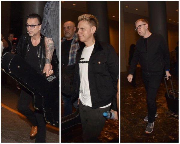 Depeche Mode est arrivé au Pérou ! ♥