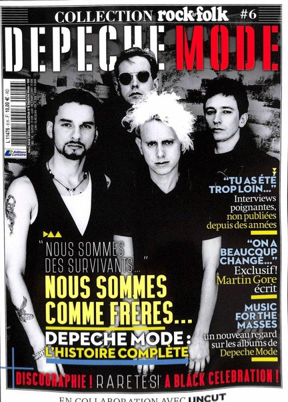 Le 8 juin, un Hors-Serie special Depeche Mode Rock & Folk est paru dans les librairies au prix de 10¤ pour 146 pages ! Attention, c'est un collector, donc tres limitié, depechez vous ! Sur Journaux.fr tout s'est vendu en un seul jour.