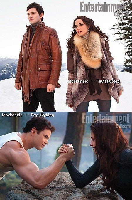 De nouvelles images de Twilight Révélation partie 2