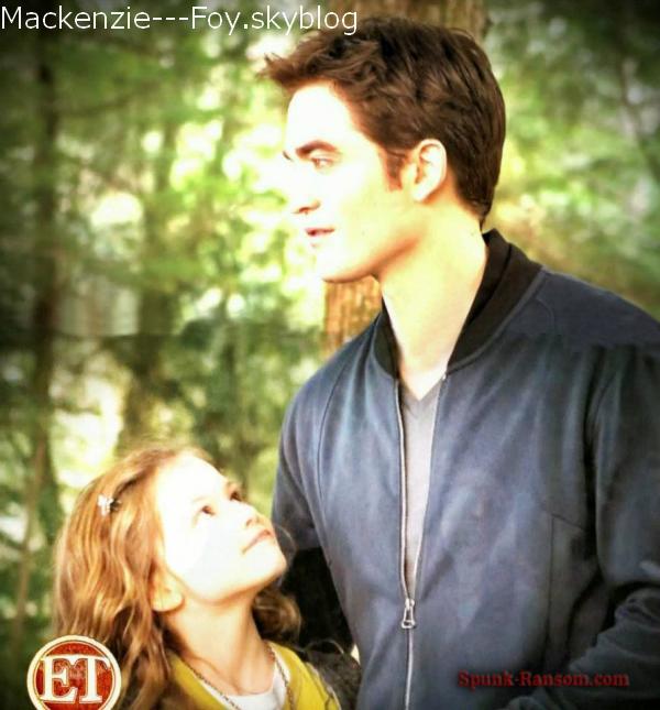 Deux autres nouvelles images de Twilight Révélation partie 2 !