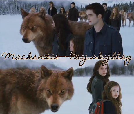 """Nouveau teaser """" Twilight Révélation partie 2 """" (+) Photos de Nessie"""