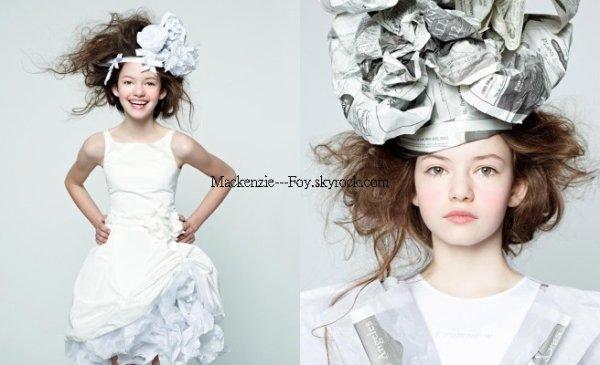 """Mackenzie pour le magazine """"L'officiel enfant"""""""